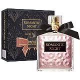 Romantic Night - Agua de perfume Paris Elysees para mujer, 100 ml