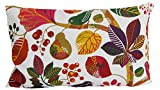 """beties """"Zauberwald"""" Kissenhülle ca. 30x50 cm Kissenbezug in interessanter Größenauswahl hochwertig & angenehm aus 100% Baumwolle (Elfenbein-bunt)"""