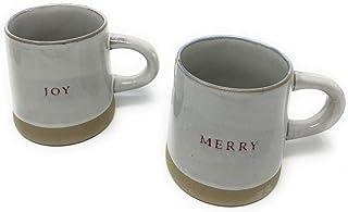 Stoneware Mug Joy and Merry