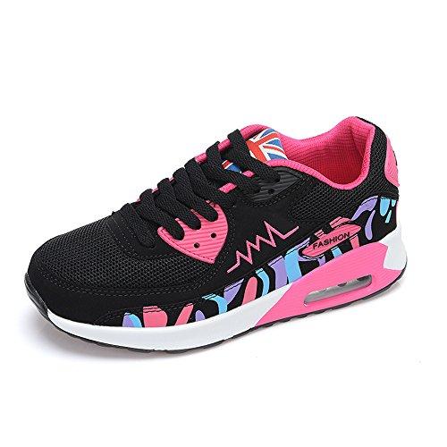 Peggie House, Zapatos de Deporte Mujer Synthetic/Mesh Alta Elasticidad