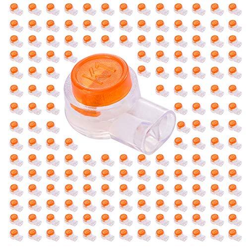viliconty Butt Splice conectores, naranja