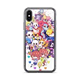 Beamm-Frost Compatible with iPhone 7 Plus/8 Plus Case Undertale Sans Boy Role Play American Indie Game Pure Clear Phone Cases Cover