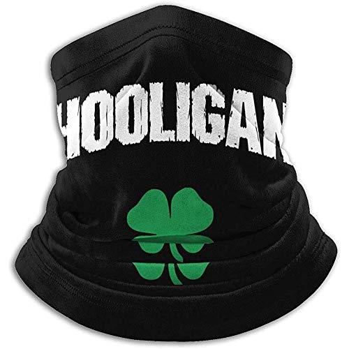 YTGHF Schal Neck Warmer Gaiter Irish Hooligan Soft Microfiber Headwear Face Scarf Mask