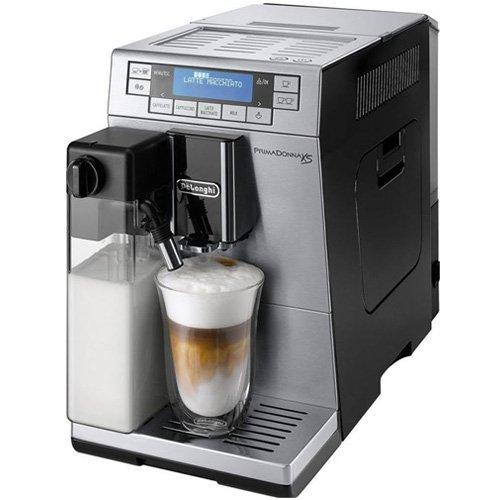 De'Longhi PrimaDonna XS ETAM 36.365 MB Kaffeevollautomat, Silbern/schwarz