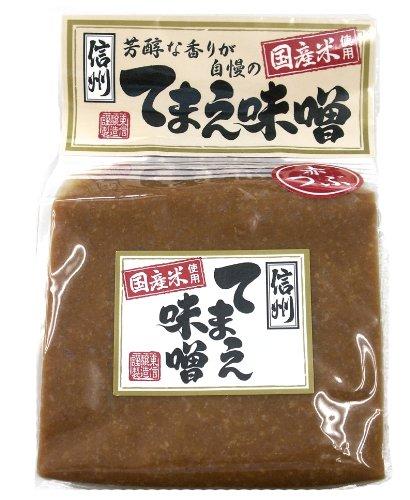 東信醸造 信州てまえ味噌 赤つぶ 2kg