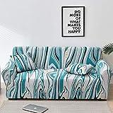 WXQY Funda de sofá Europea con Todo Incluido Fundas de sofá con Estampado Floral para Sala de Estar Sofá Toalla Funda para Muebles Sillón Funda para sofá A5 1 Plaza