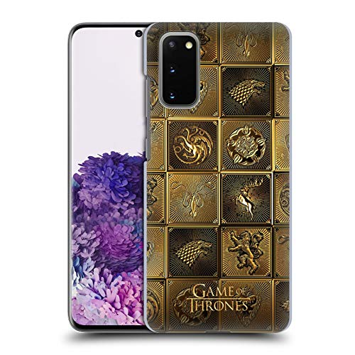 Head Case Designs Officially Licensed HBO Game of Thrones All Houses Golden Sigils Hard Back Case Compatible with Samsung Galaxy S20 / S20 5G