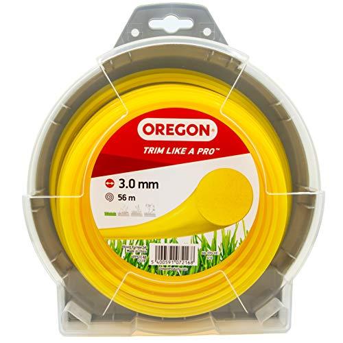 Oregon 69-370-YE Hilo redondo para cortadora de césped (3 mm x 56...