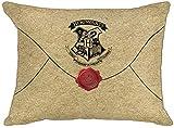 Warner Brothers Harry Potter - Cojín Reversible con diseño de Escudo de Hogwarts, 40 cm x 30 cm,...