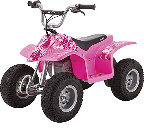 Razor Dirt Quad Electric Four-Wheeled Off-Road Vehicle - Pink
