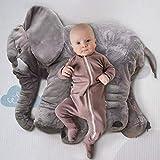 JYSPT Baby Elefant Kissen Kinder Elefant Puppe Kuscheltier Spielzeug Kissen für Kinder Weihnachten Weihnachtsfeier Tischdekoration Geschenke