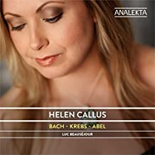 Bach - Krebs - Abel by Callus, Helen, Beausejour, Luc (2015-02-17?