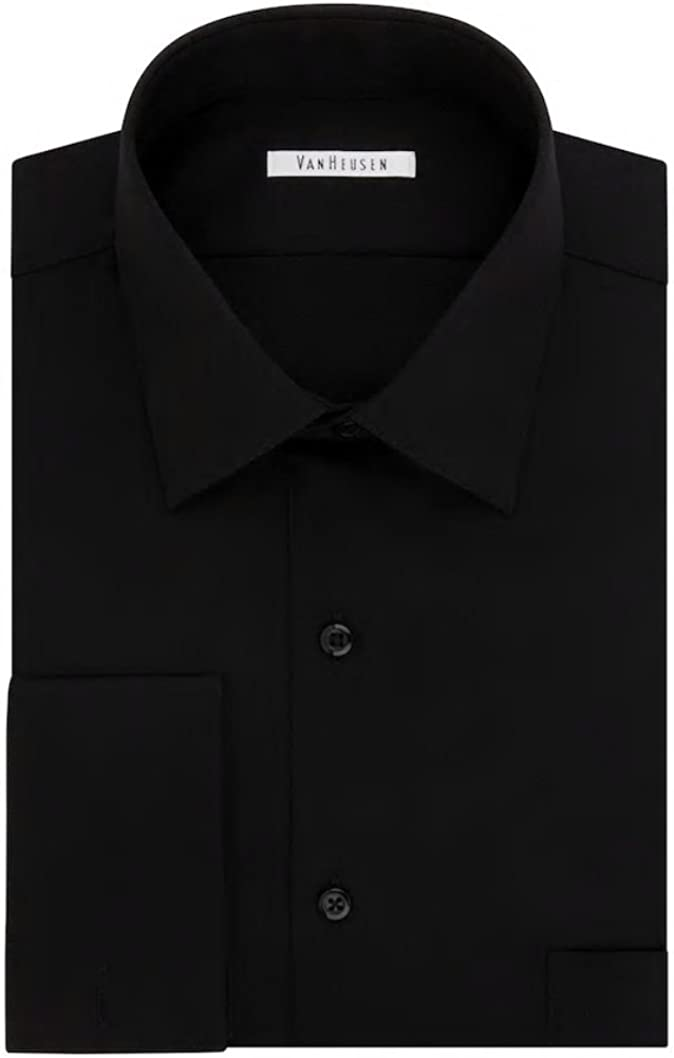 Van Heusen Men's Extreme Color Endurance Regular-Fit Dress Shirt