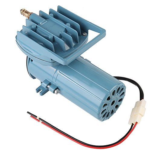 Aquarium Air Pump, DC 12V 35W Fish Tank Pump Aerator for Fish Pond Aquaculture Aquarium Accessory Tool, 8.6 x 4.3 x 5.5 Inch