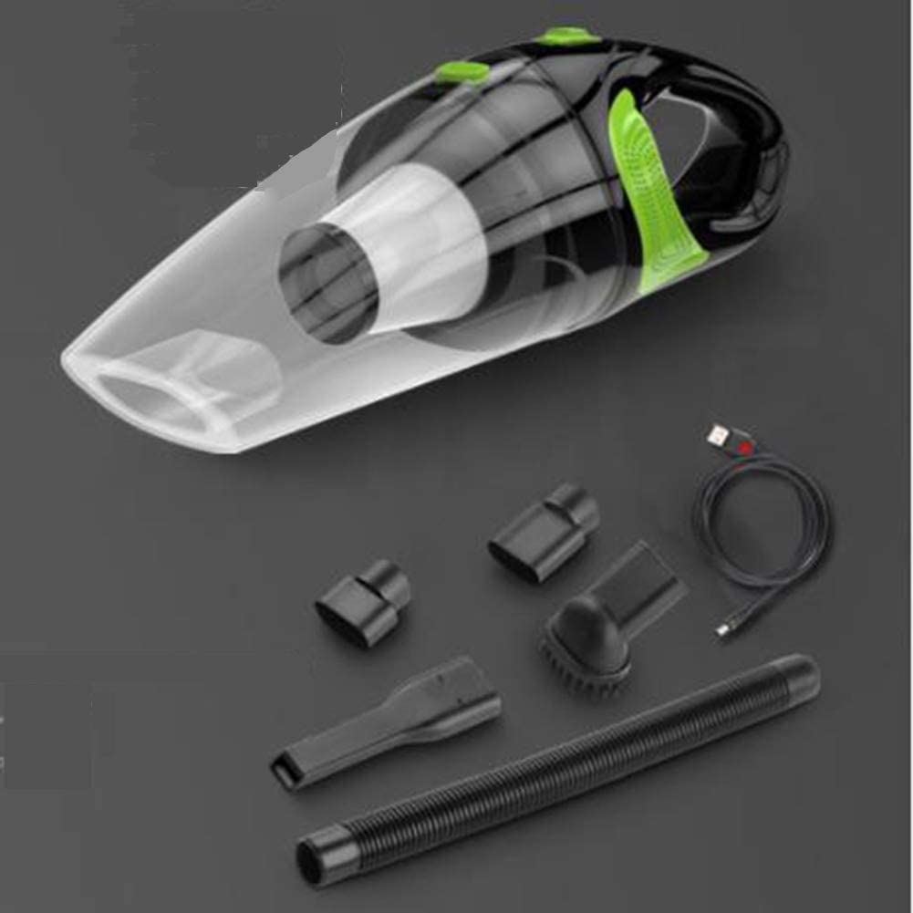 JSX Dealing full price reduction NEW 4000Pa Strong Power Car Vacuum Cordless 12V Cleaner DC 120W