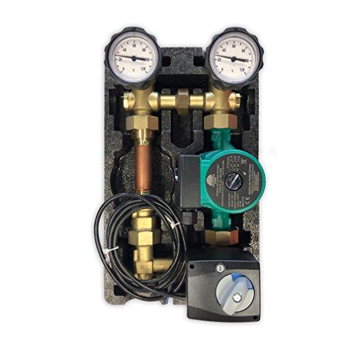Oventrop Pumpengruppe m. Stellmotor Mischer Umwälzpumpe 25 40 180 Regumat M3-180 Anbindesystem DN25