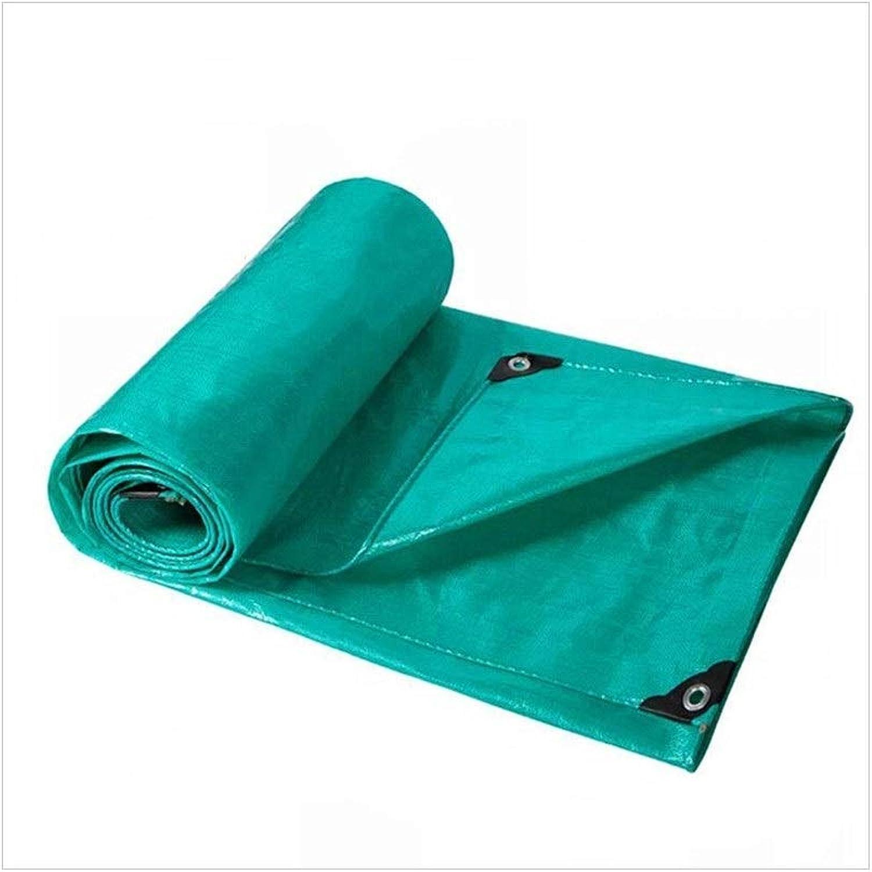 LQQGXL Green Padded Waterproof Tarpaulin, Rainproof Sun Awning Cloth Truck Tarpaulin Outdoor Sunshade dustproof Windproof Tarpaulin Waterproof Tarpaulin