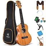 vangoa tenore ukulele principiante kit 26 pollici ukulele mogano per adulti bambini professionisti
