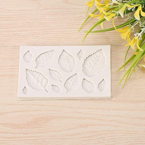 Cosiki Molde de Silicona para Tartas, Molde de Silicona para Hornear, Molde para Tartas con Fondant Apto para lavavajillas, moldes para pastelería, Utensilios para Hornear
