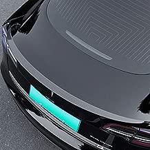 Xipoo Fit Tesla Model 3 Spoiler Trunk Spoiler Wing Rear Spoiler Wing Lip for 2017-2021 Tesla Model 3 Accessories (Glossy Carbon Fiber, Model 3 Original Model Spoiler)