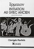 Initiation au grec ancien - Corrigés partiels