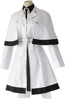 Womens Costume Cosplay Uniform Outfit Coat Skirt Fullset