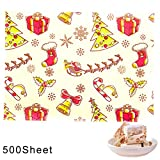 Asien 500pcs Christmas Candy Wrapper Nougat Wrappers Selbst Gemachte Süßigkeiten...