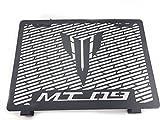 Protection de grille de radiateur pour Yamaha Mt0920132014201520162017Water Cooler Guard Housse de protection pour radiateur (Noir mat)