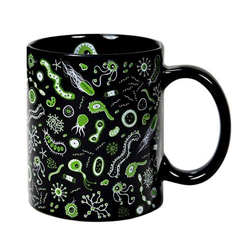 Tazza da colazione 32 cl. in ceramica nera con design Betterio