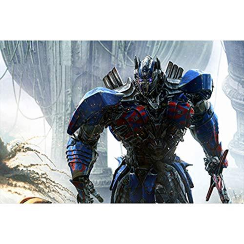 puzzles Rompecabezas De Madera para Niños Optimus Prime Transformers 1000 Piezas De Descompresión para AdultosJuguetes Educativos(Color:re)