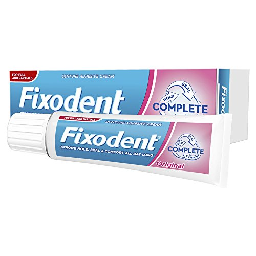 Fixodent Complete Original Denture Adhesive Cream, 47 g - by Fixodent