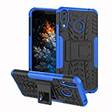 ZenFone 5Z ZS620KL Case, Tyre Pattern Design Heavy Duty Tough Armor Extreme Protection Case with Kickstand Shock Absorbing Detachable 2 in 1 Case Cover for ASUS ZenFone 5Z (ZS620KL). Hyun Blue