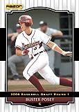2008 Razor Signature Series WHITE Baseball...