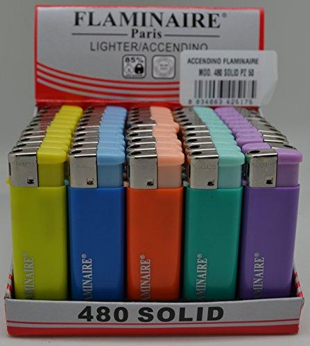ACCENDINO FLAMINAIRE 480 SOLID - BOX da 50PZ