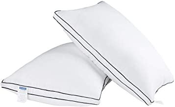 JZS Gusseted Pillow(2 Pack) Bed Pillows 50 x 70 cm