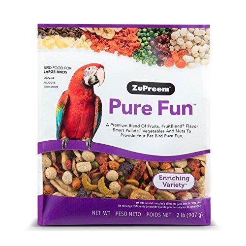 ZuPreem Pure Fun Bird Food for Large Birds 2 lbs