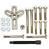 HSEAMALL 13 herramientas de extractor de equilibrador armónico, juego de extractor de volante, extractor de volante, extractor de cigüeñal