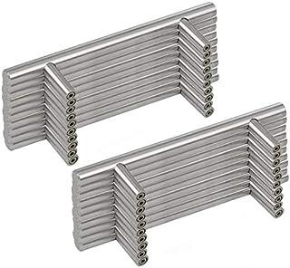 comprar comparacion Margueras - 20 tiradores de barra para puertas de armario de cocina de 160 mm entre orificios.