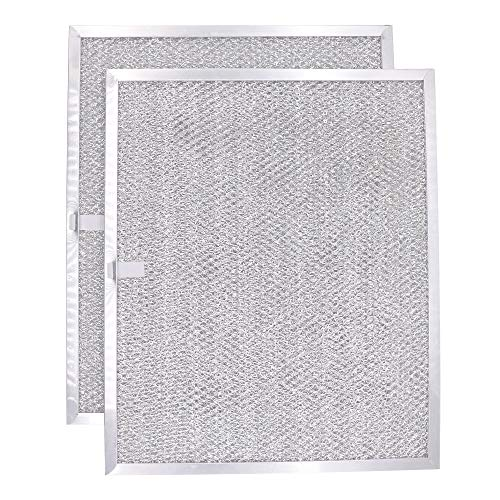 Primeswift BPS1FA30 Aluminum Filter Compatible with Broan 30 wide WS1 and QS1 Series Range Hood Filter(2Pack)