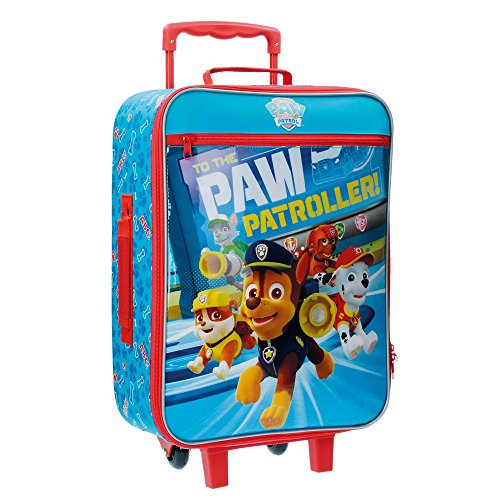 Paw Patrol Patroller Valigia per Bambini, 50 cm, 25 Litri, Blu