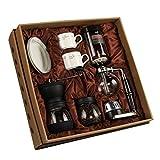 Vakuum-Kaffeebereiter Siphon Kaffeemaschine Set Coffee Siphon Technia Vintage Kaffeemühle Siphon