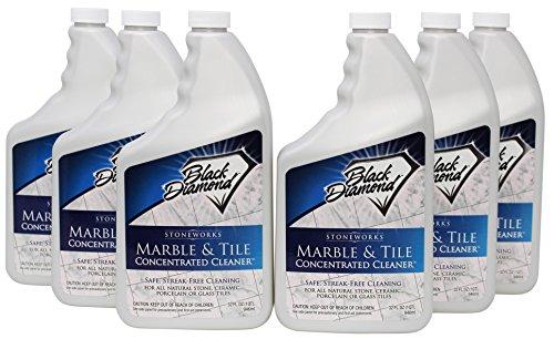 Black Diamond Marble Tile Floor Cleaner Great For Ceramic - Streak free tile floor cleaner recipe