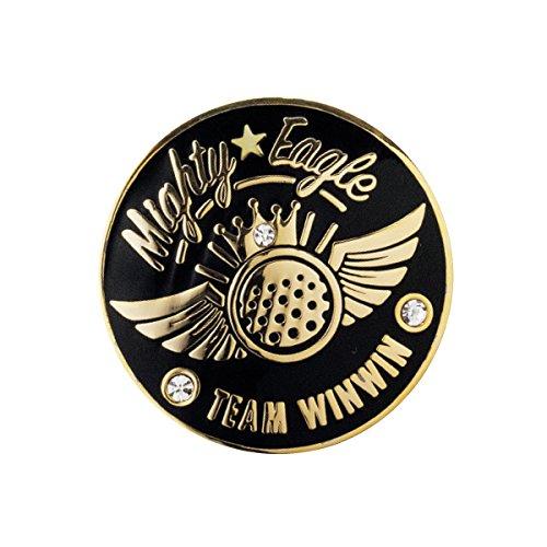 WINWIN STYLE(ウィンウィンスタイル) メガマーカー MIGHTY EAGLE Gold Ver. MIGHTY EAGLE Gold Ver. MM-312 ユニセックス MM-312 ブラック デザイン:型打ち製法(七宝仕上げ)/クリスタルス