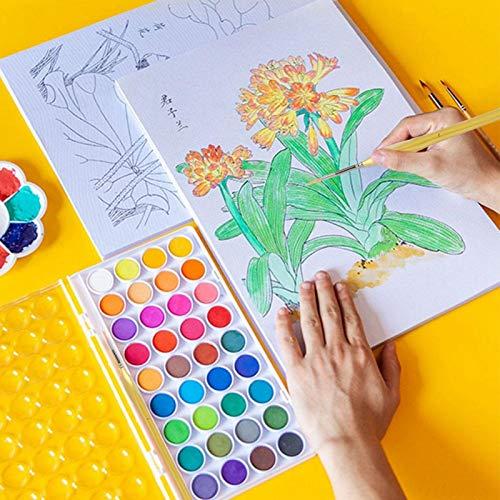 Pelos de nailon de primera calidad, 12 pinceles triangulares con mango de madera de nailon dorado para pintar el cabello, para detalles finos y pintura artística