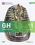GH 1 (1.1-1.2 NAVARRA HISTORIA)+ SEP GEO AULA 3D: GH 1. Geografía E Historia. Navarra. Libro 1, 2 Navarra Y Separata Navarra. Aula 3D: 000003 - 9788468235189