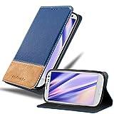 Cadorabo Funda Libro para Samsung Galaxy S3 / S3 Neo en Azul MARRÓN - Cubierta Proteccíon con Cierre Magnético, Tarjetero y Función de Suporte - Etui Case Cover Carcasa