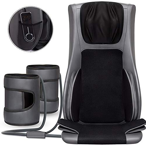Best Price ZHHID Back Massagers for Chairs, Neck Back Massager with Heat, Full Back Kneading Shiatsu...