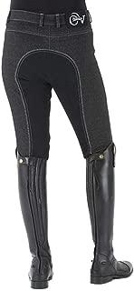 Women's Euro Melange Full Seat Cotton Breeches