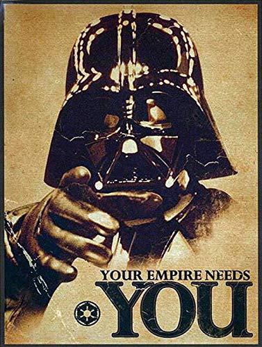 Generies Your Empire Needs You Metal Cartel De Chapa Decoración Cartel De Pintura De Hierro Popular para Bar Cafetería Comedor Casa Club