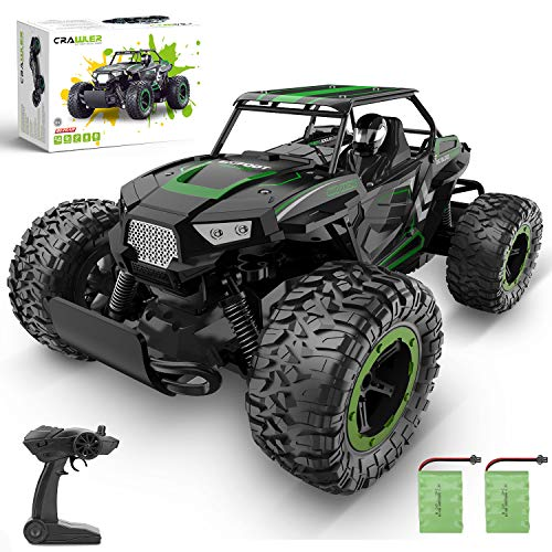 RC Car, 1: 14 Scale High Speed Off Road Hobby Crawler Al-Alloy Boy 2.4Ghz...
